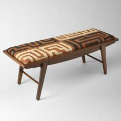 An awesome bench to mix in with your contemporary decor from the West Elm South Africa collection