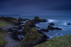jtat_88 posted a photo:  View from Ballintoy over looking the shoreline towards Giant's Causeway. Taken using LEE filters Little Stopper and 0.9 hard grad filter.