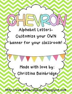 Chevron Classroom <3
