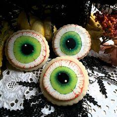 Eyeball cookies by Teri Pringle Wood