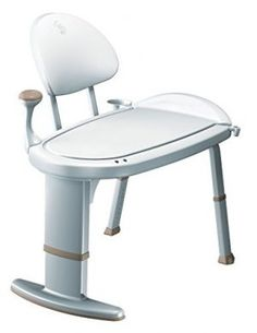 Shop the latest collection of Moen Home Care W x D Adjustable Height Non Slip Bath Safety Transfer Bench, Glacier White from the most popular stores - all in one place. Similar products are available. Bath Bench, Bath Seats, Bench With Back, Shower Holder, Shower Chair, Basket Organization, Home Safety, Bathing, Chairs