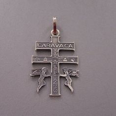 Caravaca Cross. This cross was carried from Jerusalem to Caravaca (Murcia) by two angels.