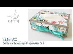 "Mini-TaTü-Box ""Gute Besserung"" mit crehand und Stampin' Up! - YouTube"