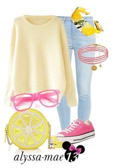 """Honey Lemon | Big Hero 6 | DisneyBound"" by alyssa-mae13 ❤ liked on Polyvore featuring Paige Denim, Converse, Dolce&Gabbana, Juicy Couture, disney, disneybound, BigHero6 and honeylemon"