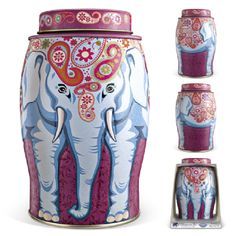 Williamson Paisley Tea Caddy