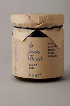 le pain boule / HONEY