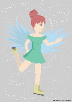 The Skinny Fairy Illustration by: Karina Mignoni