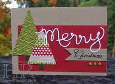 #SU Washi Tape Christmas Trees