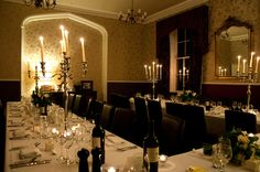 Dining at Lemor Manor - UK