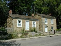 Pendarvis in Mineral Point, WI - a refurbished cornish cottage dating back to the mining era.