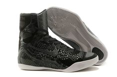 pretty nice 6babc 518f2 Kobe 9 Elite Charcoal Gray Blackout Cheap Nike Running Shoes, Buy Nike Shoes,  Cheap