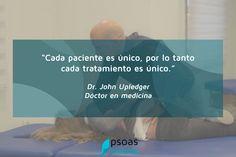 """""""Cada #pacientes es único, por lo que cada #tratamiento es único"""" #fisioterapia #fisioterapeuta #osteopatia #osteopata"""