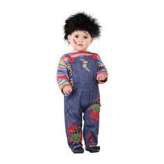 Disfraz de Chucky El Muñeco Diabólico para Bebé