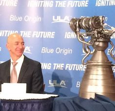 Jeff Bezos' Blue Origin to Build New Rocket Engine for US Launch Provider United Launch Alliance, Rocket Engine, New Engine, Engineering, Product Launch, Military, Rockets, Blue, Tech Companies