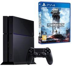 Pack PS4 500 Go Noire + Star Wars Battlefront pas cher - Les Bons Plans de PetitBuzz ❤