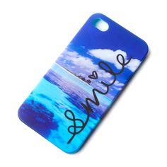 Gift Idea. Beach Smile Cover for iPhone 4 and 4s | Claire's