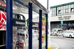 Bus Stop - Platform n. 1 Line 2 Orio al Serio BGY > Fiera Rho Line 3 Orio al Serio BGY > Monza > Malpensa