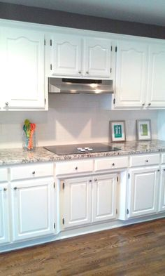 White Kitchen Cabinets Painted Sherwin Williams Quot Extra