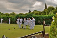 lawn bowling in Stratford Upon Avon Stratford Upon Avon, Summer Of Love, Bowling, Britain, Lawn, Events, Adventure, Vintage, Flowers