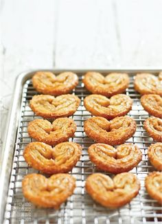 Cookie Week 2012 Day Four: Cinnamon Orange Palmiers - Today's Nest