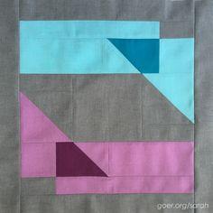 Cloud9 New Block Blog Hop: Geometric Transparency – Sarah Goer Quilts