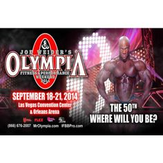 This is the 50th Annual Year of the Mr Olympia contest in Las Vegas 51a59f5d54