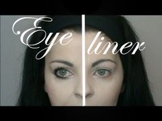 Ténica eyeliner cómo tener ojos almendrados ( párpados caídos , ojos caídos ) - YouTube