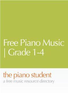 Free Piano Music | Grade 1-4 from Take-A-Piano-Sheet-Music-Break.com | Well written arrangements - https://thepianostudent.wordpress.com/2008/10/03/free-piano-sheet-music-from-take-a-piano-sheet-music-breakcom/