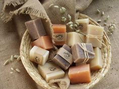 Hand made guest soaps or favor gifts