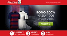 el forero jrvm y todos los bonos de deportes: sportium triplica primer deposito 100 euros el cla...