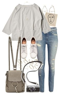 """""""Untitled #10181"""" by nikka-phillips ❤ liked on Polyvore featuring H&M, ASOS, Julie Wolfe, Chloé and Michael Kors"""