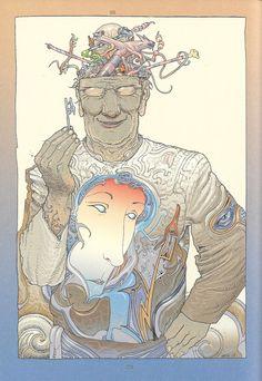 Moebius #comics#illustrations #moebius