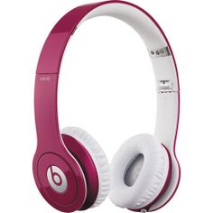 Beats by Dr. Dre Solo HD Headphones with Mic/Remote Control on Cable - Pink | eBay