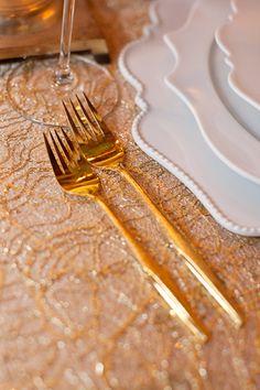 gold-flatware