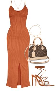 Discover outfit ideas for made with the shoplook outfit maker. How to wear ideas for louis vuitton lock necklace and Blooming Supple Necklace - Cute Swag Outfits, Teen Fashion Outfits, Mode Outfits, Night Outfits, Cute Casual Outfits, Look Fashion, Sexy Outfits, Stylish Outfits, Girl Outfits