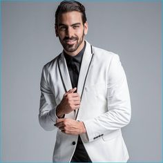 Nyle DiMarco Celebrates the Holidays with INC International Concepts Nyle Dimarco, Next Top Model, 27 Years Old, Concept, Campaign, Celebrities, Holidays, Plank, Actors