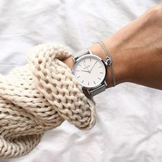 Our beautiful White&Silver mesh bracelet timepiece styled and featured by @xmyde ✨Available at www.klarf.com #klarf #klarfwatches #beautiful #silver #details #accessories #amazing #fashionista #fashionblogger #regram #xmasgift #potd #style #fashion #instagood #inspo #inspiration #instafashion #armcandy #ootd #lookoftheday #wotd #whiteaesthetic #allwhiteeverything #sweater #loveit #wiwt #tgif