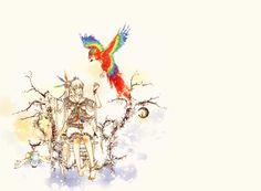 Watercolor by kazeyomi.deviantart.com on @deviantART