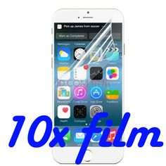 10x High Clear Screen Protector Screen Protective Film For Wiko WAX Fizz Kite Ozzy Goa Bloom Slide Screen Guard