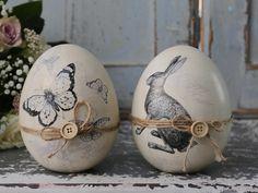 Klik på foto - for stort - © Vintage-Kompagniet Easter Gift, Happy Easter, Easter Bunny, Easter Eggs, Egg Crafts, Easter Crafts, Diy And Crafts, Diy Ostern, Egg Art