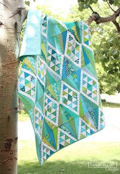 Scrappy Mulholland Drive Quilt | Flickr - Photo Sharing!