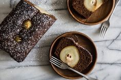 Pastry Affair | Poached Pear Gingerbread Loaf