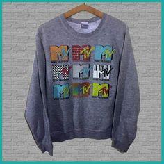 Vintage MTV Crewneck Sweatshirt