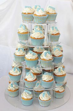 baby feet christening cupcakes - All You Need To Know About Baby Shower Christening Cupcakes Boy, Baby Shower Cupcakes For Boy, Gateau Baby Shower, Baby Shower Treats, Baby Cupcake, Cupcakes For Boys, Birthday Cupcakes, Baby Birthday, Baby Shower Cakes