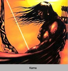 Karna the king who cud end the war in both way by war or by pec
