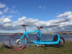 Bullitt Cargo Bike, Dog Bike Trailer, Pedal Pushers, Bicycle Design, Cyclists, Bike Stuff, Bicycles, Transportation, Sporty