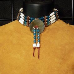 8ad1c62319fad 25 Best Native American Bone Chokers images in 2019 | Chokers ...