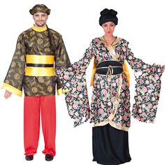 Costumes pour couples Asiatiques #déguisementscouples