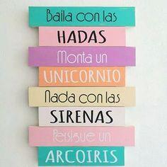 Entre hadas, unicornios, arcoiris y sirenas... Déjala #soñar está noche!! Dulces sueños princesa 🌜⭐🌚💜 ...#dulcessueños #miprincesa #mimundo #mibebita #babyroom #girlsdecor #hechoconamor #méxicocreativo #gdl #mumukidsmx