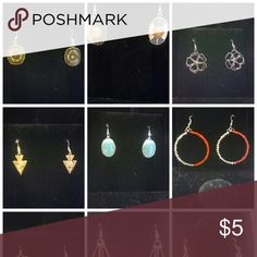Earrings Assorted styles & colors for day or evening wear Jewelry Earrings